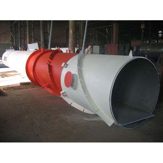 металлическая труба для дымовых газов