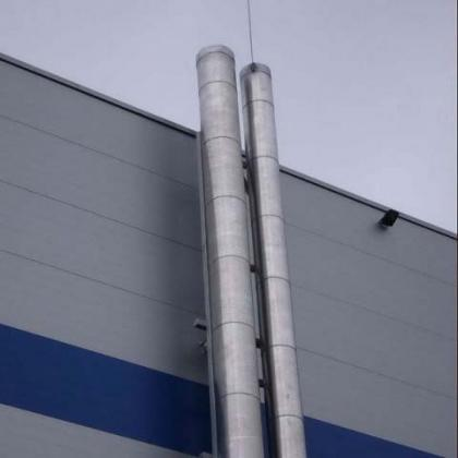 Фасадные дымовые трубы 1