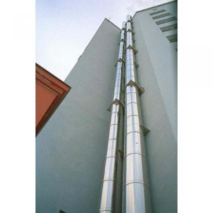 Фасадные дымовые трубы 5