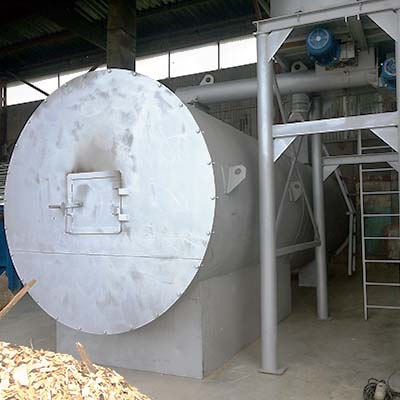 Equipment for cooling and drying