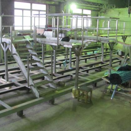Grounds maintenance of stainless steel_work_1