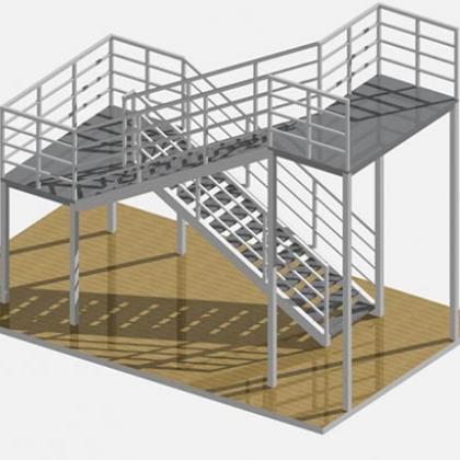 Металлические лестницы 1