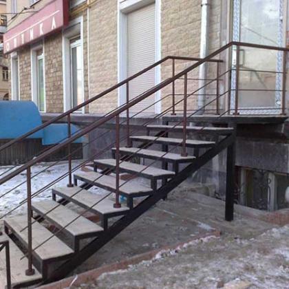 Металлические лестницы 4