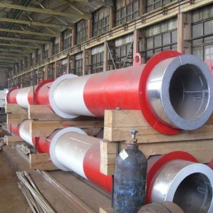 Многоствольные дымовые трубы на производстве