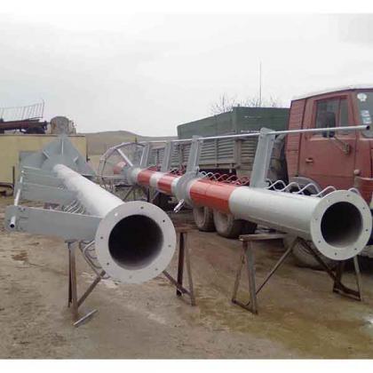 Самонесущие дымовые трубы складирование