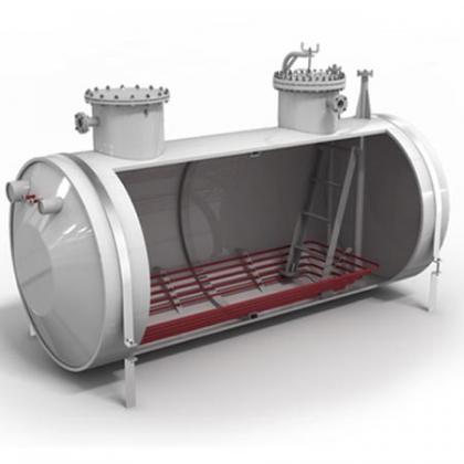 Underground tanks horizontal drainage_2