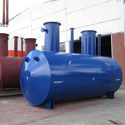 Underground tanks horizontal drainage_work_1