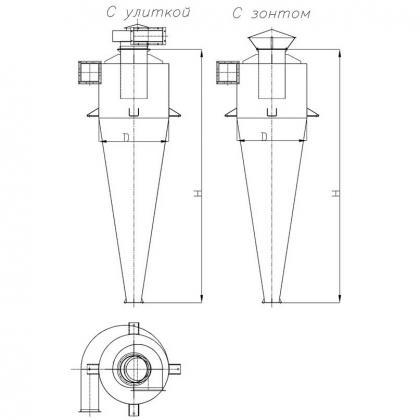 Циклон УЦ-38 схема