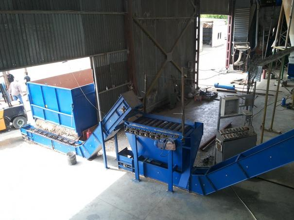 Модернизация линии брикетирования и гранулирования